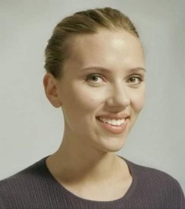 Scarlett Johansson naturelle