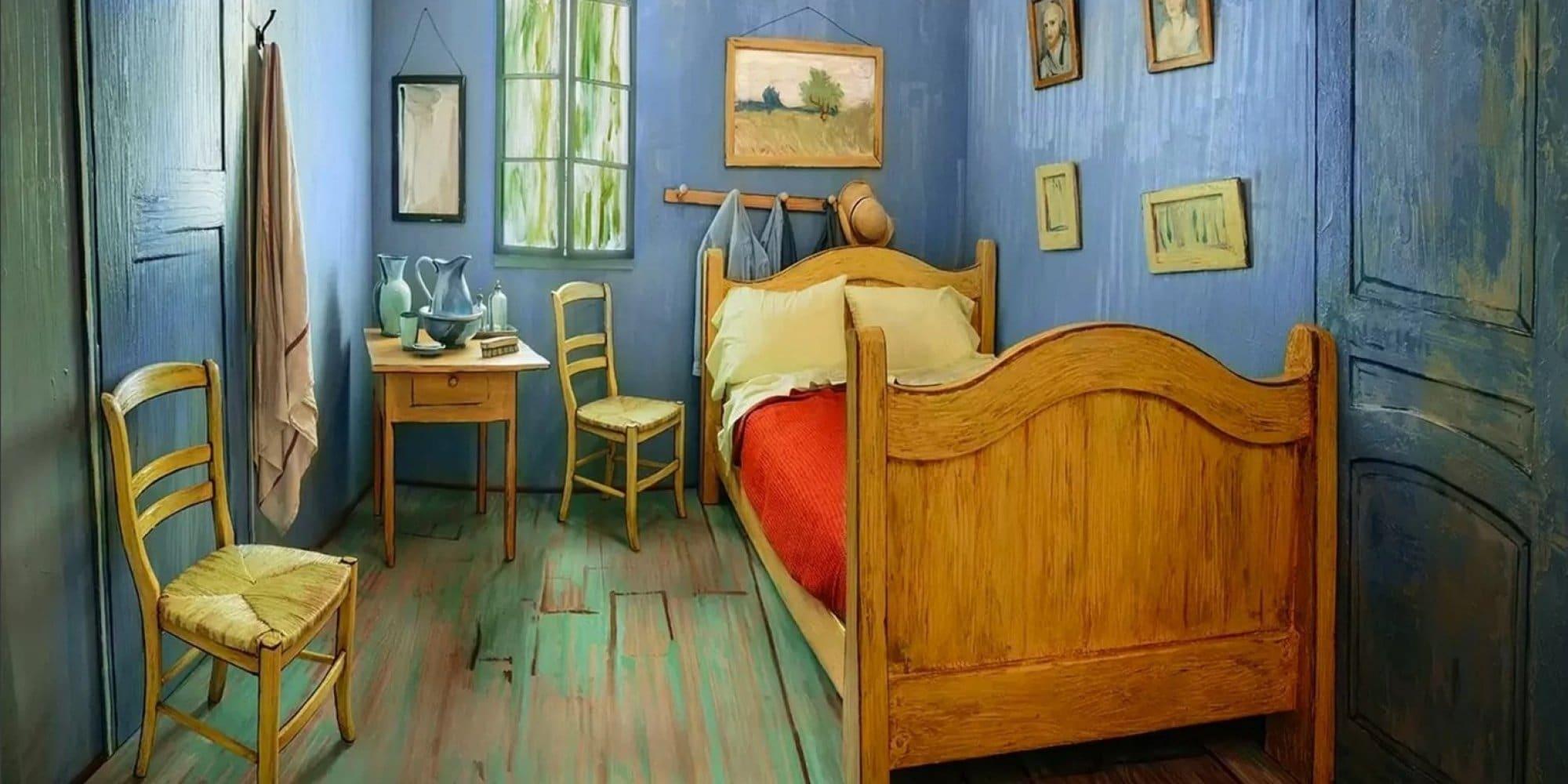 La chambre jaune van gogh