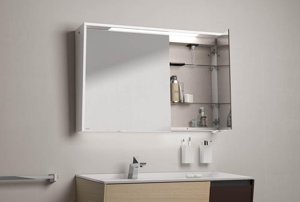 Rangement quelques conseils pour votre salle de bains for Miroir rangement salle de bain